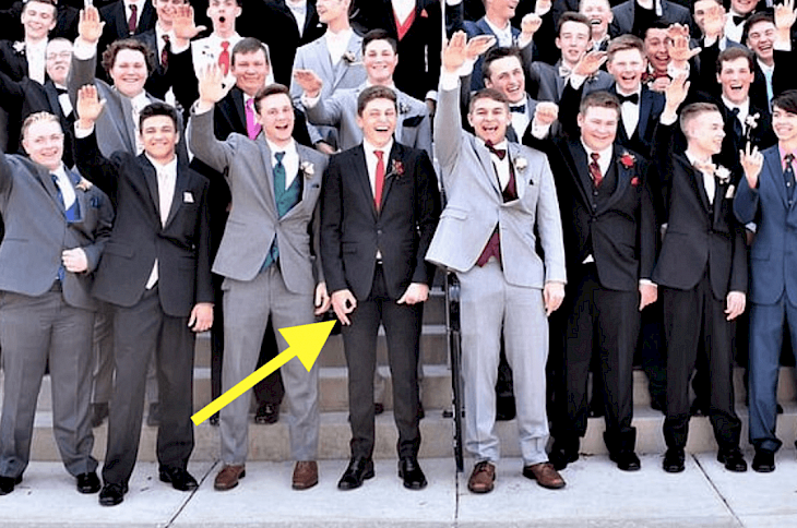 Apparent Nazi Salute In US High School Prom Photo Prompts Outrage