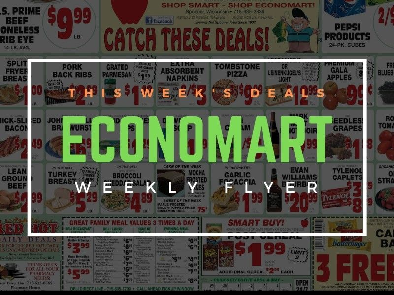 'Catch These Deals' This Week At Schmitz's Economart!