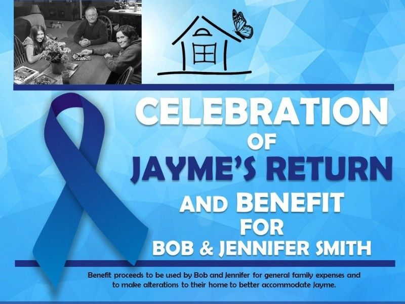 Celebration Of Jayme's Return, Benefit For Bob And Jennifer Set For Saturday