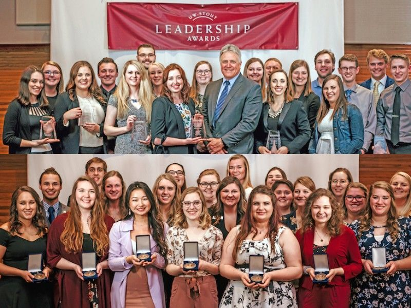 UW-Stout Students, Groups Earn Wood, Leadership, Co-Op Awards