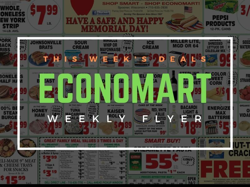 'Have A Safe And Happy Memorial Day' With These Great Deals From Economart