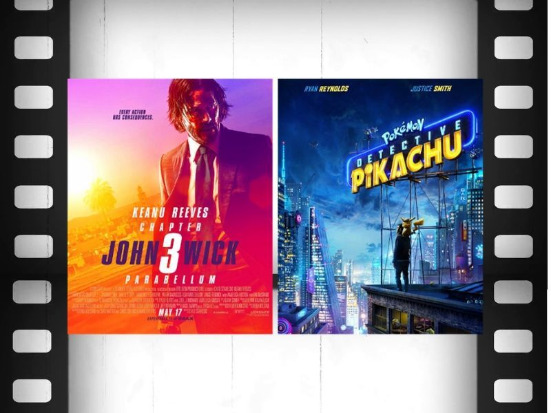 Movie Review (Double Feature): 'John Wick 3' And 'Pokemon Detective Pikachu'