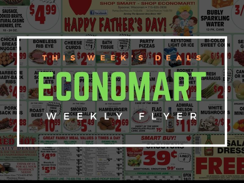 'Happy Fathers Day' - This Week's Great Deals From Schimtz's Economart!