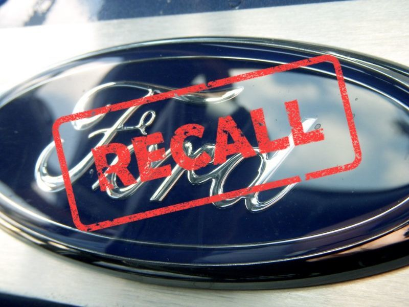 Ford Recalls 1.3 Million SUVs, F-150s For Safety Issues