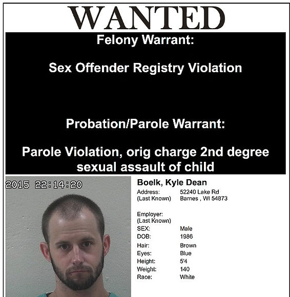 Jeff washburn 3rd degree sex offender