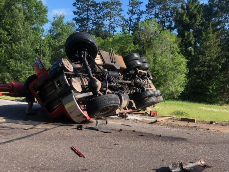 UPDATE: Victims Identified In Multi-Vehicle Crash In Burnett Co.