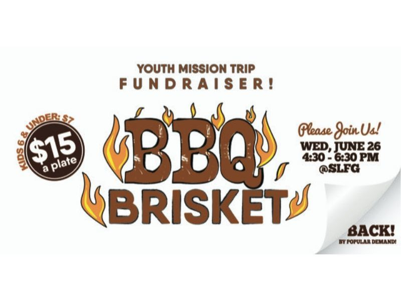 Delicious Brisket Fundraising Dinner - Wed, June 26th In Shell Lake!