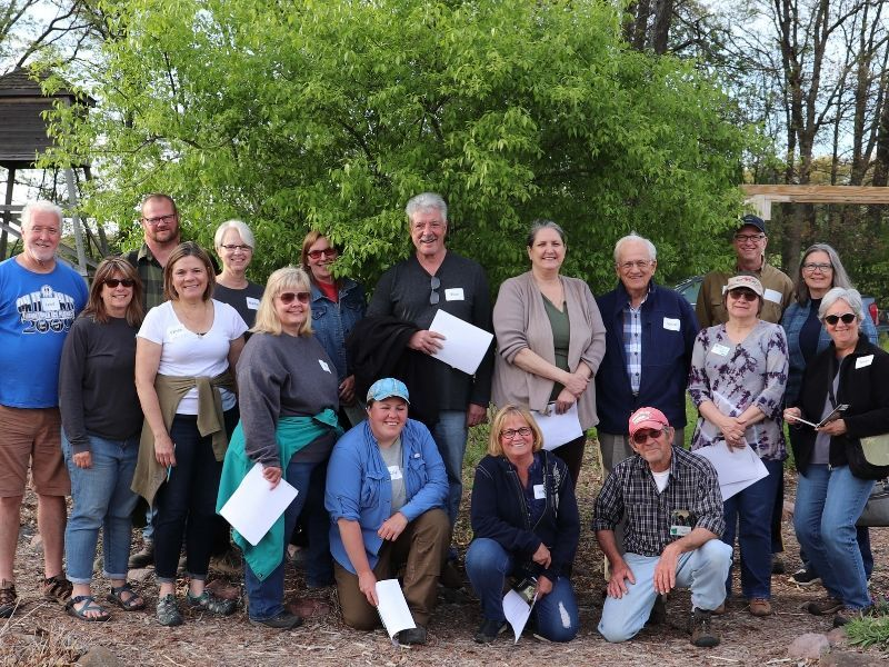 Master Gardener Volunteer Training Completed