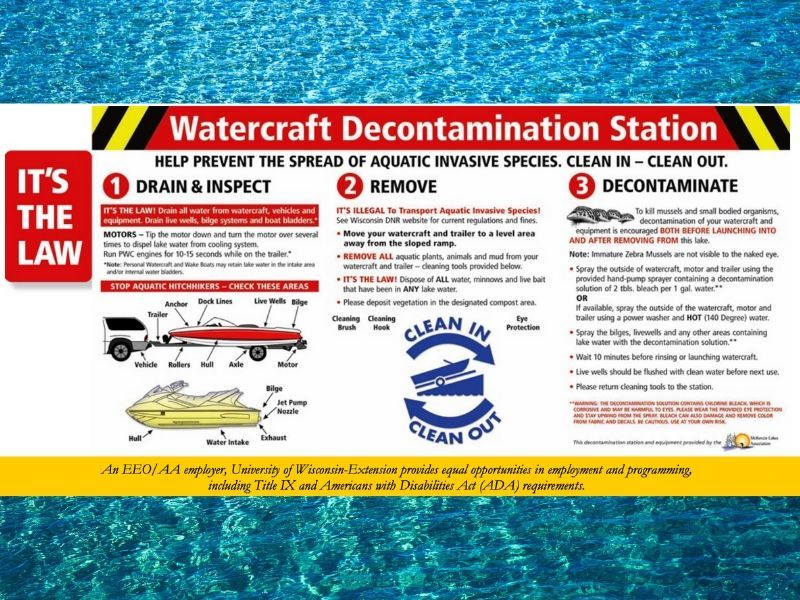Zebra Mussel Decontamination Station Order