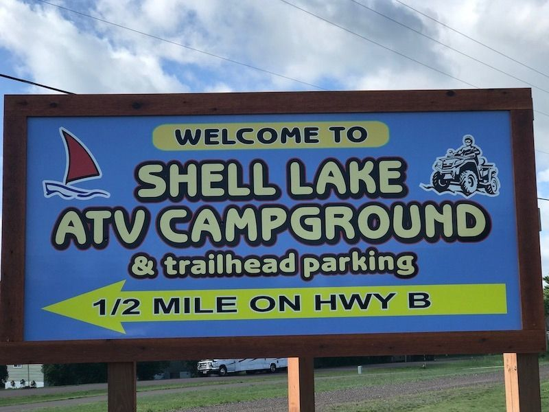 Signage Goes Up For ATV Campground In Shell Lake