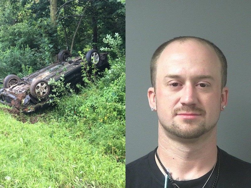 Driver Crashes Vehicle After Leading Police On High-Speed Pursuit