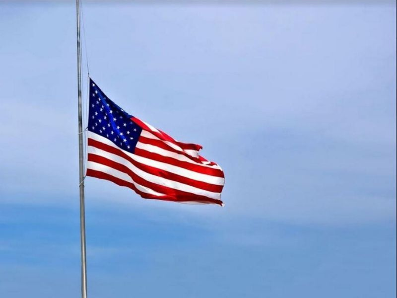 President Orders Flags To Fly At Half-Staff Today