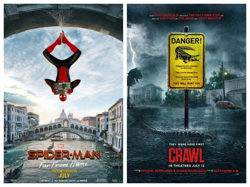Movie Review Double Feature: 'Spider-Man: Far From Home' And 'Crawl'