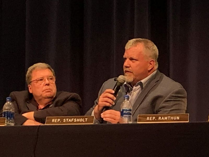 Rep. Stafsholt Brings Adoption Task Force To Unity High School