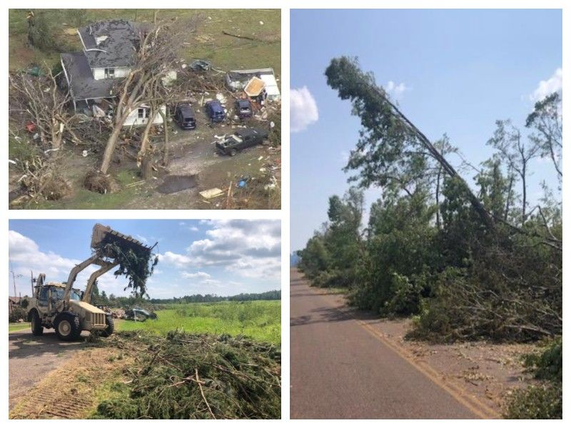 Windstorm In Barron County Disaster Recovery Update