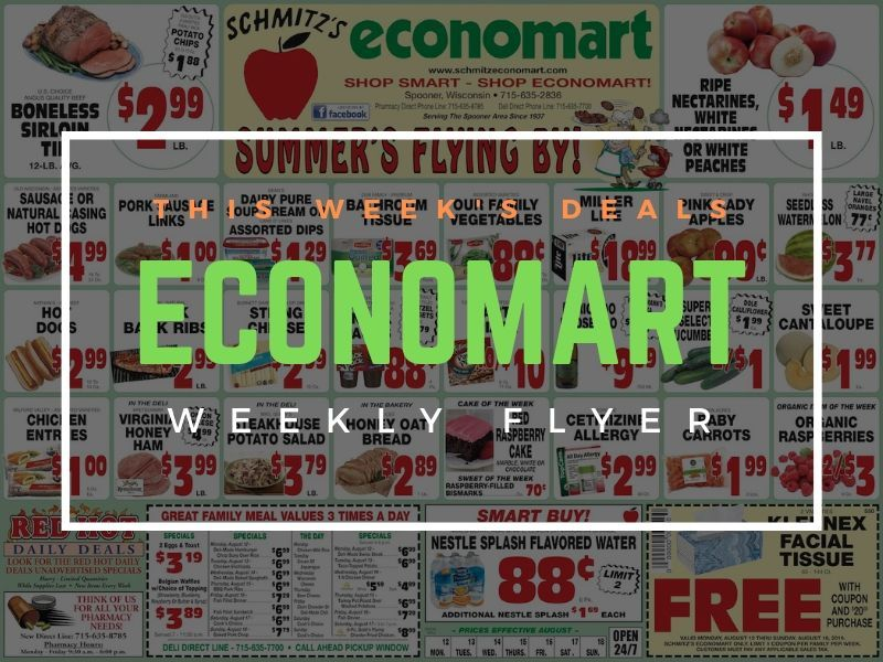 'Summer's Flying By' - This Week's Great Deals At Schmitz's Economart!