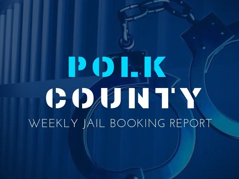Polk County Weekly Jail Booking Report