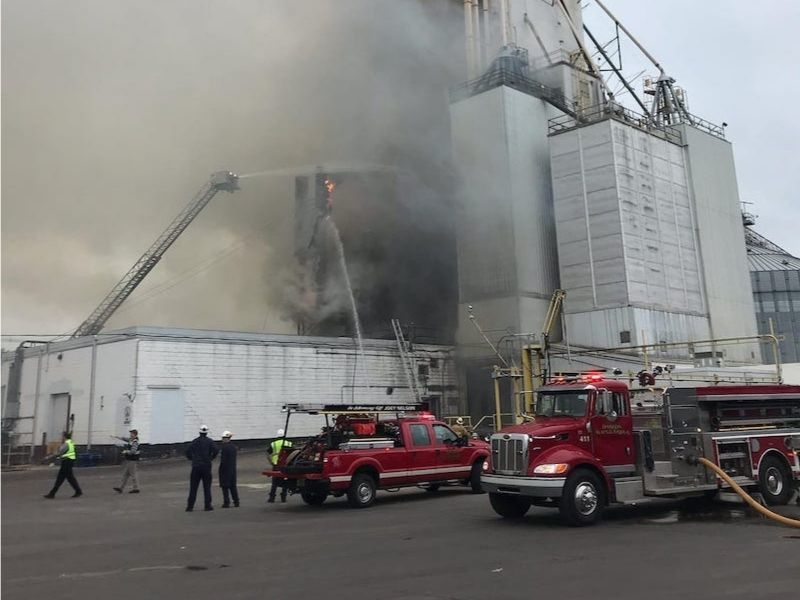 UPDATE: Fire Chief Issues Update On Fire At Jennie-O Turkey Store Feedmill