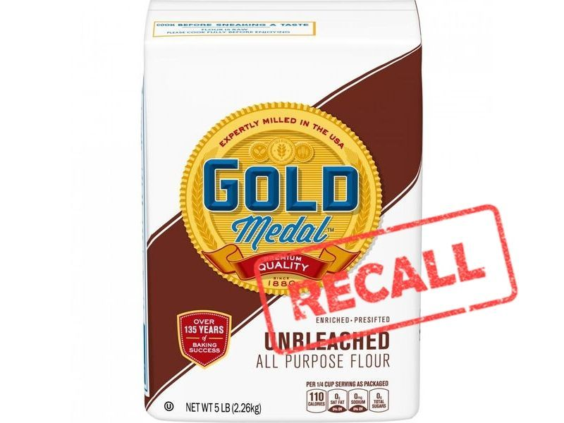 General Mills Recalls 5lb Bags Of Gold Medal Unbleached All Purpose Flour