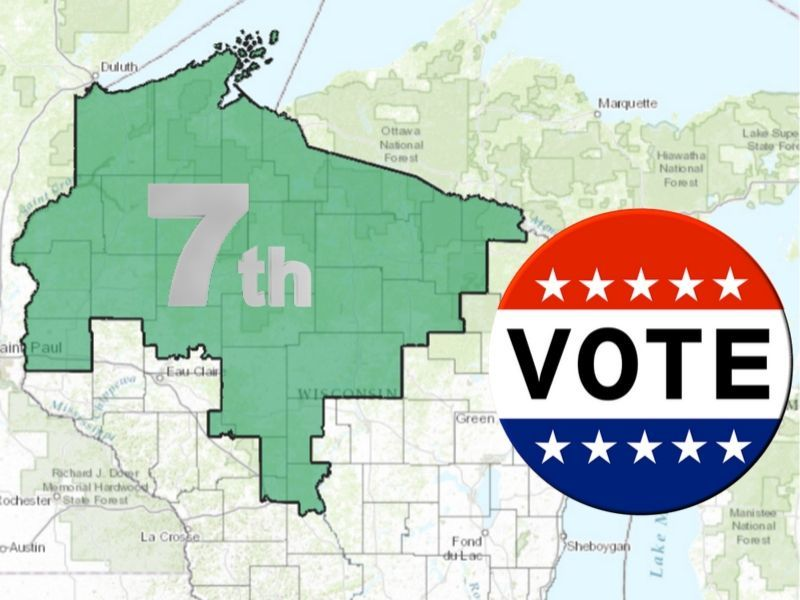 Gov. Evers Sets Date For 7th Congressional District Special Election