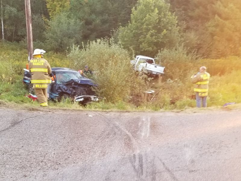 Two-Vehicle Crash In Barron Co. Results In One Fatality, Another With Serious Injuries