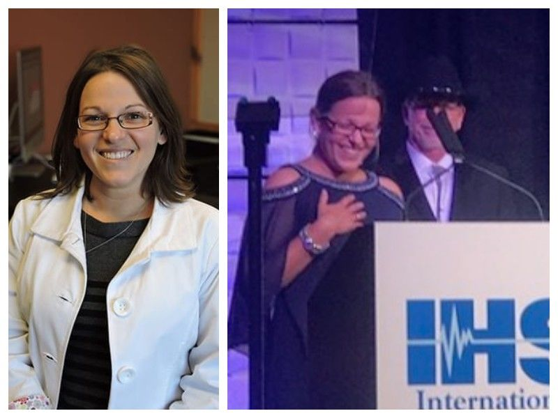 Samantha Sikorski Receives Prestigious Award At International Convention