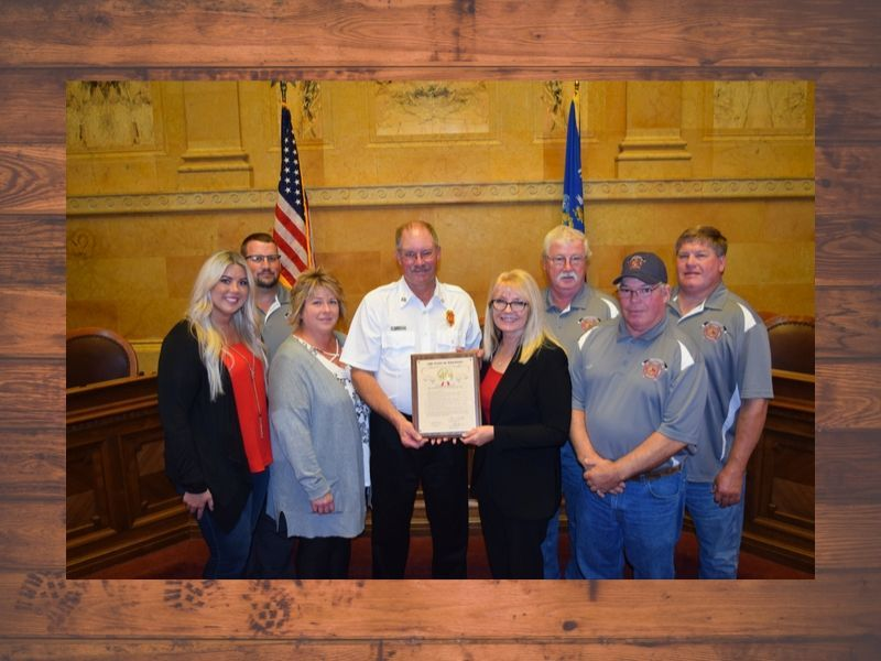 Frederic Fire Chief Recognized As 28th Assembly District First Responder Of The Year