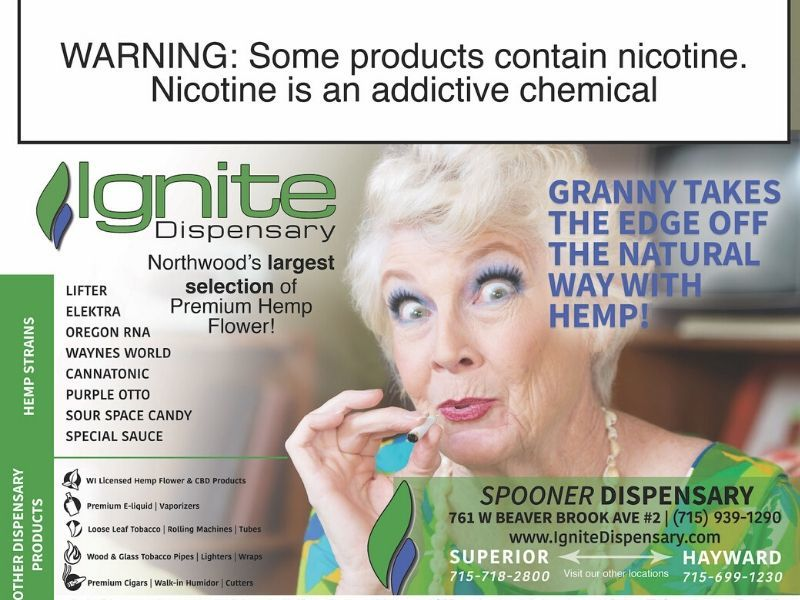 Ignite Dispensary Is Here To Help Take The Edge Off The Natural Way With Hemp!
