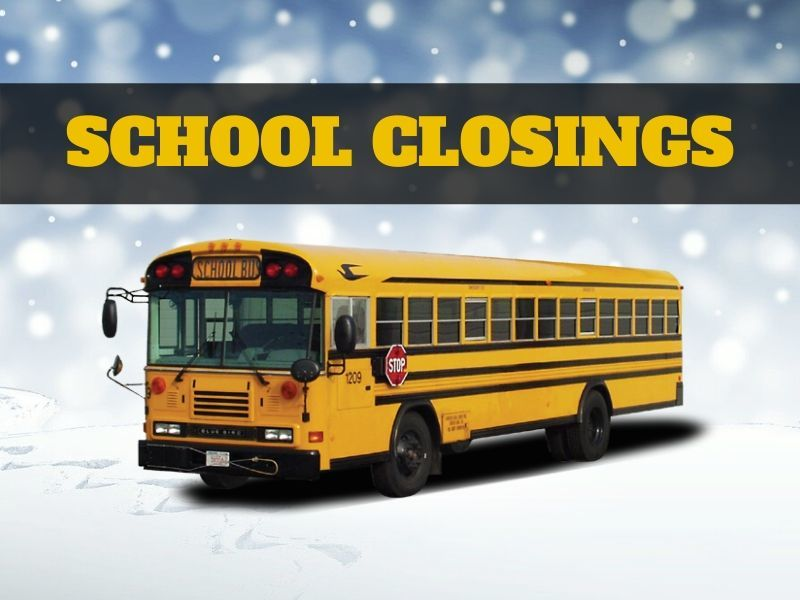 Closings And Delays For Monday, December 9th