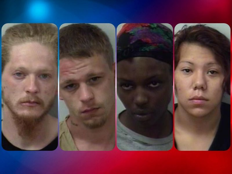Court Sentences Four In Connection To High-Speed Chase In Polk County