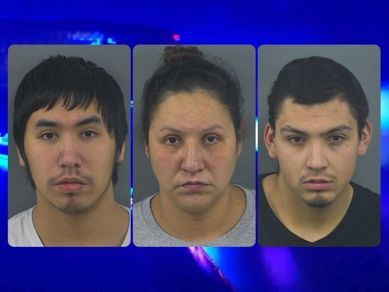 Child Welfare Check Leads To Drug Bust, Three Arrests