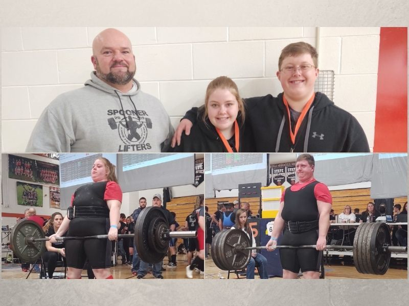 Spooner Lifters Turn In Strong Performance At Elk Mound