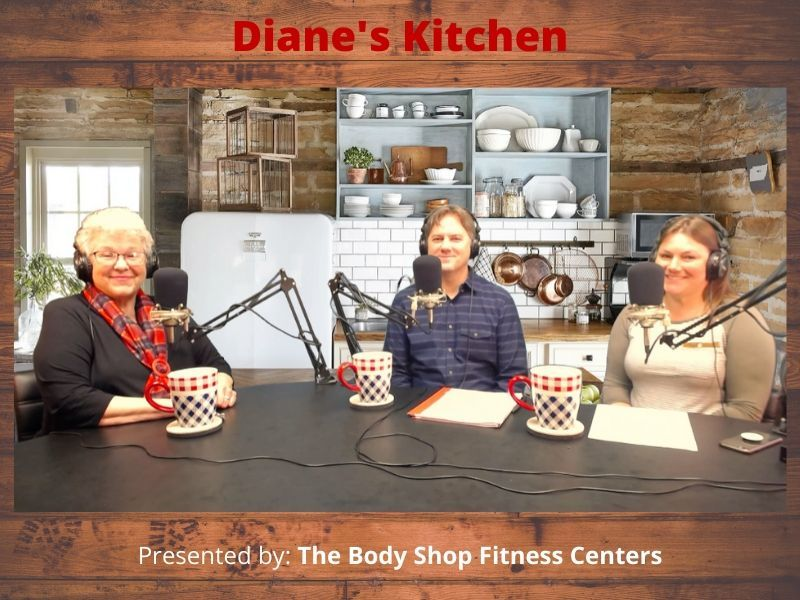 WATCH: Aaron Arf & Katie Folstad Of The 'Wisconsin Lakes Team' On Diane's Kitchen!