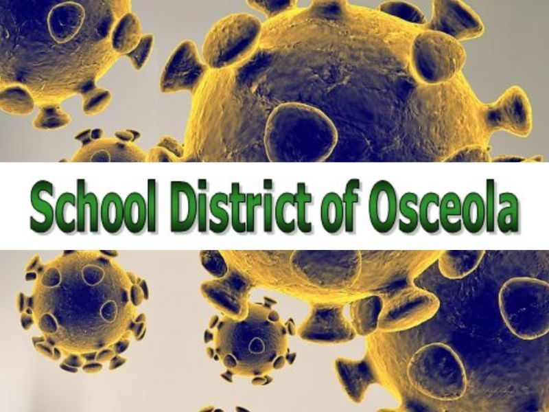 Osceola School District Cancels Classes Tuesday Citing Potential Coronavirus Exposure