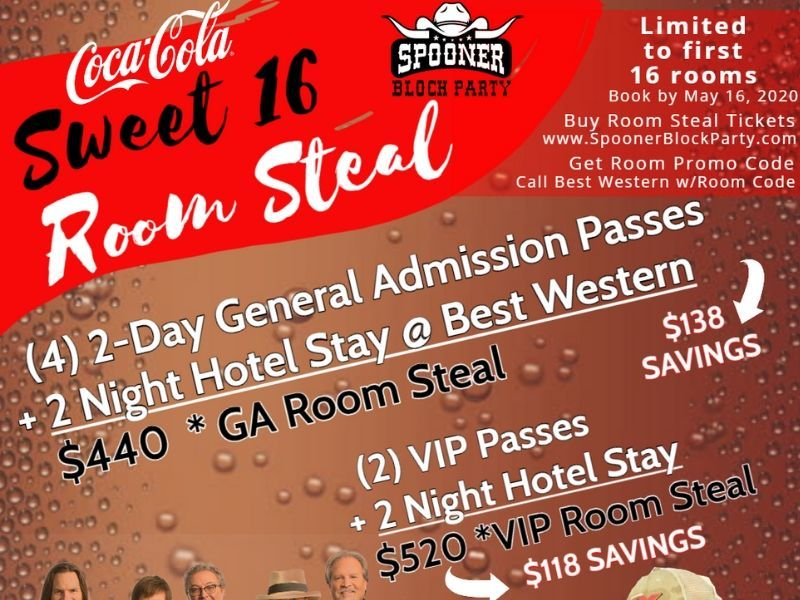 Spooner Block Party Announces Hotel Discount With Ticket Package