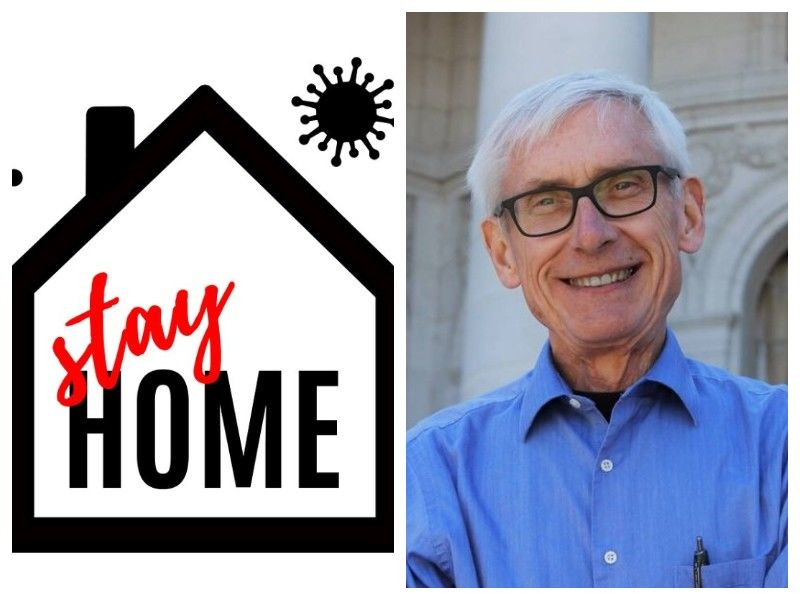 Gov. Evers Directs DHS To Issue Safer At Home Order