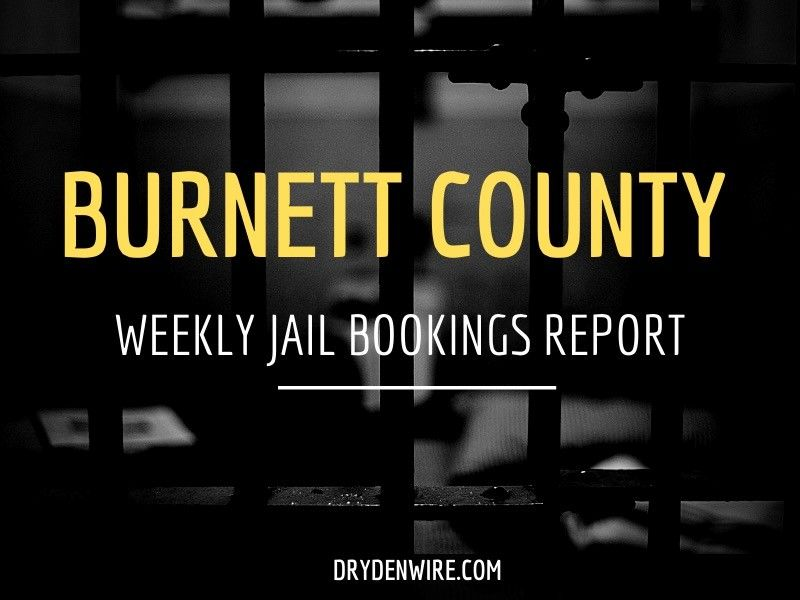 Burnett County Jail Bookings Report