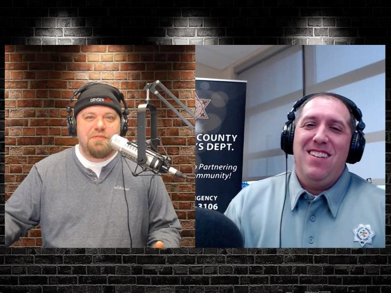 WATCH: Barron County Sheriff Chris Fitzgerald On DrydenWire Live!
