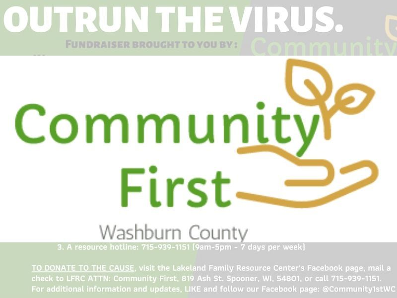 Community First Washburn County Needs Your Help To Help Others Outrun The Virus