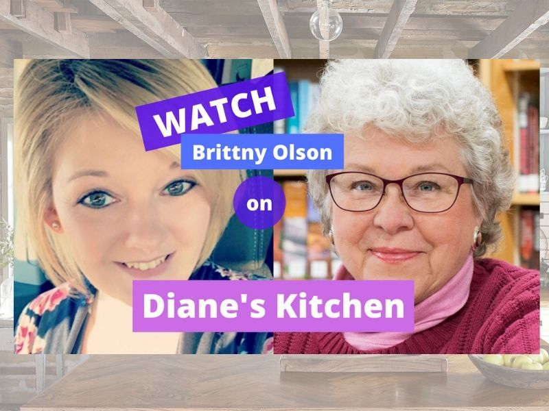 WATCH: Brittny Olson From Embrace On Diane's Kitchen!