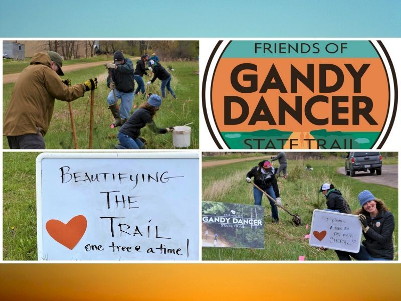 Friends Of The Gandy Dancer Trail Celebrate Mother's Day On The Trail