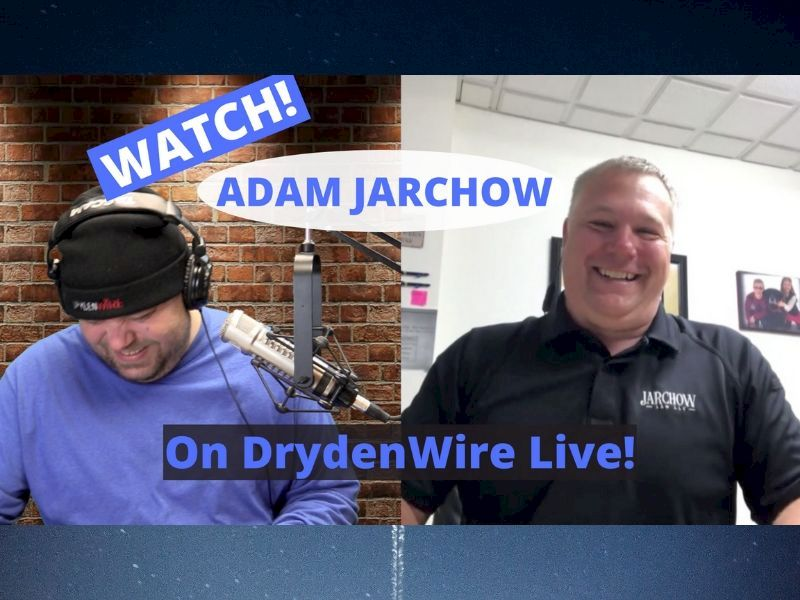 WATCH: Adam Jarchow On DrydenWire Live!