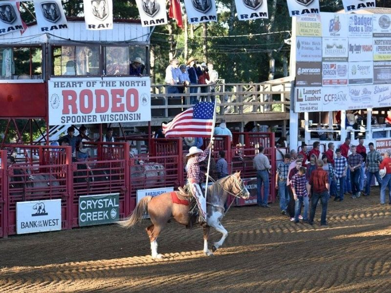 Heart Of The North Spooner Rodeo Postponed Until 2021