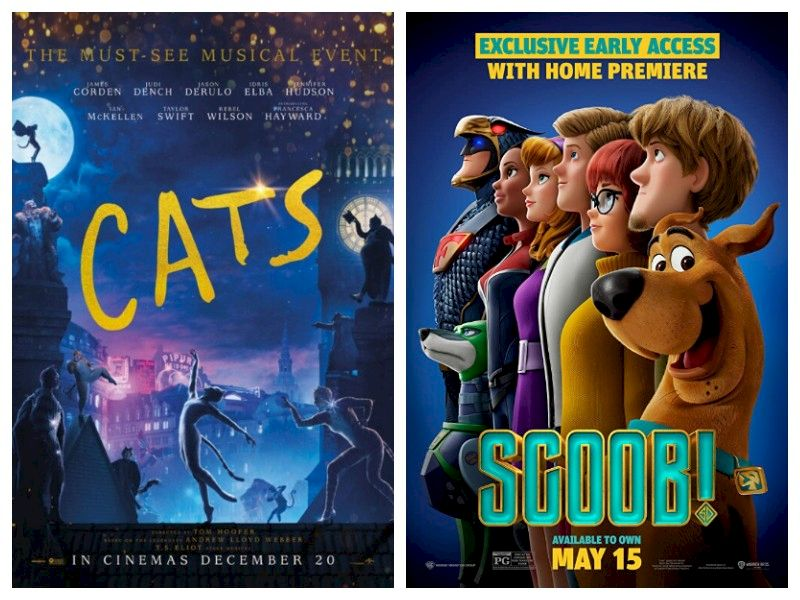 (Double Feature) Movie Review: 'Cats' & 'Scoob!'