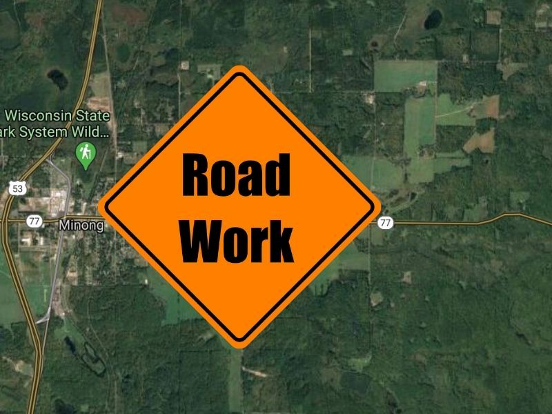Short-Term Paving Project Planned On Wis 77 In Washburn County