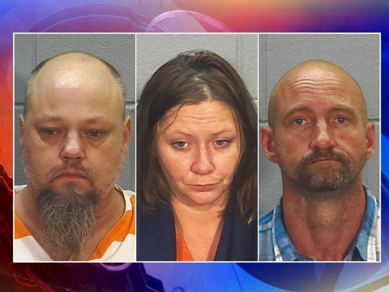 Search Warrant Executed At Burnett Co. Residence; 3 Arrested On Drug Charges