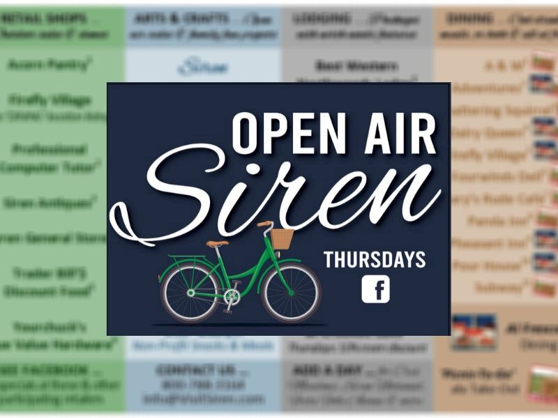 Siren launches Open Air Thursdays