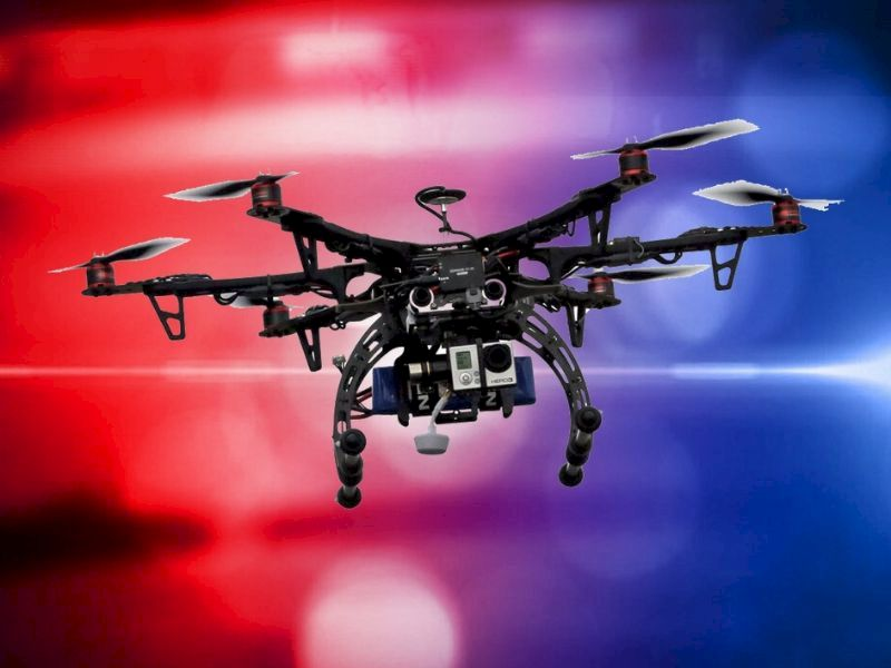 Drone With Thermal Imagery Help Locate Injured Driver From Single-Vehicle Crash