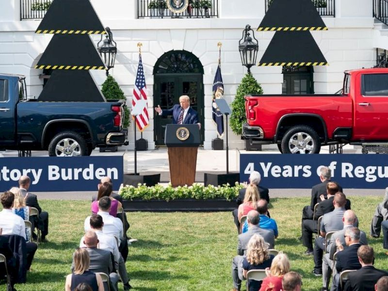 Barron County Highway Commissioner Attends White House Event With President Trump