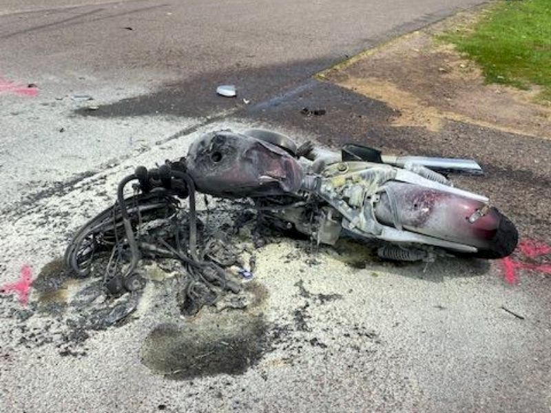 Motorcycle Vs Trailer/Truck Crash In Chippewa County Results In Fatality